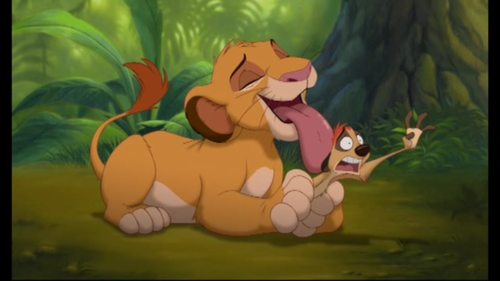 Parenthood: Lion King Style