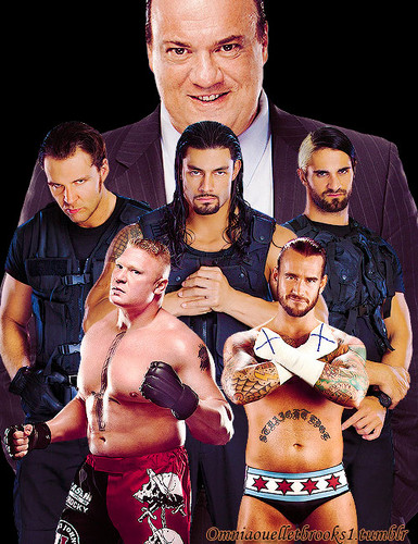 Paul Heyman.The Shield,Brock Lesnar,CM Punk
