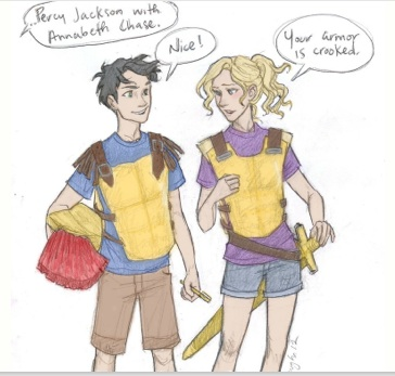percy and annabeth dating in high school