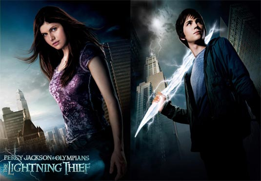 The Lightning Thief Percy Jackson and Annabeth Chase
