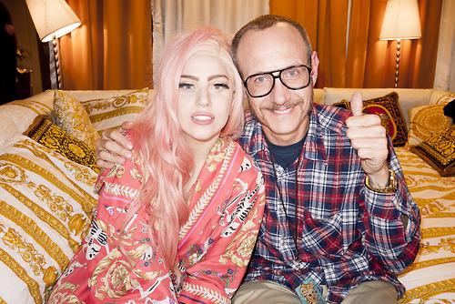 写真 of Gaga によって Terry Richardson