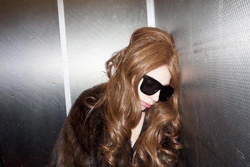 照片 of Gaga 由 Terry Richardson