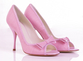 merah jambu heels