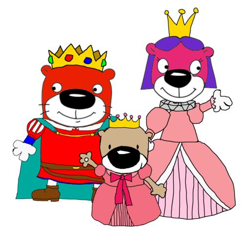 Prince Peanut, Princess Jelly, and Princess 버터