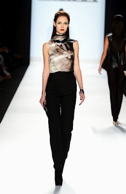 Project runway Season 10 Finale Collections: Christopher Palu.