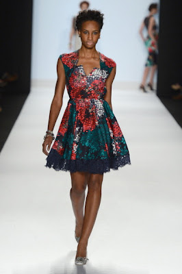 Project Runway Season 10 Finale Collections: Sonjia Williams.