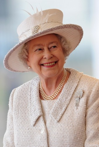Queen Elizabeth II wallpaper probably with a boater and a fedora entitled Queen Elizabeth II