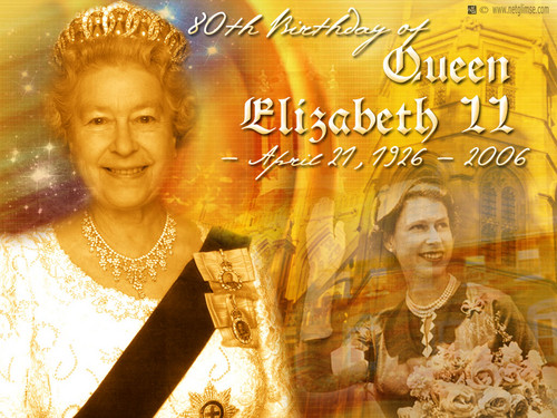 Queen Elizabeth II wallpaper probably containing a sign entitled Queen Elizabeth II