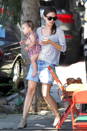 Rachel out in Los Feliz