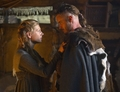 Ragnar & Lagerta (Travis Fimmel & Katheryn Winnick) Vikings history channel 2013 - travis-fimmel photo