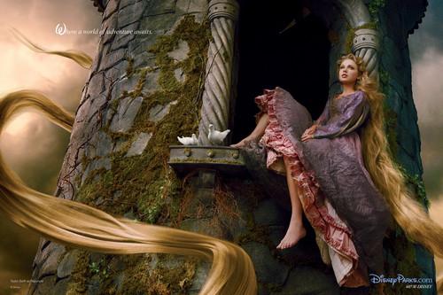 Rapunzel por Annie Leibovitz
