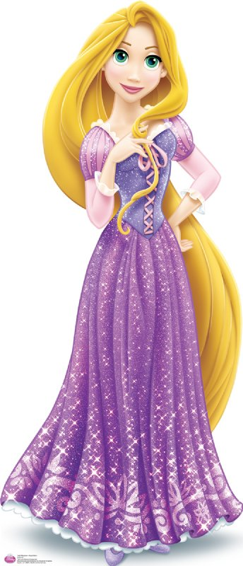 Rapunzel royal debut