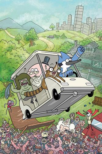Regular show comic cover