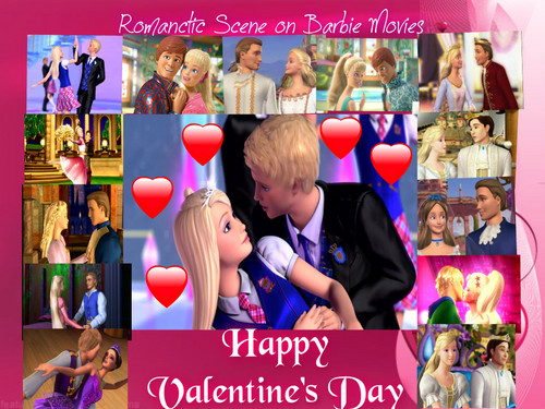 Romantic Scene on Barbie films
