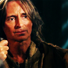 Rumpelstiltskin/Mr. Gold photo with a portrait titled Rumpelstiltskin