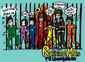 Running Man Cartoon