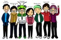 Running Man Cartoon - running-man fan art