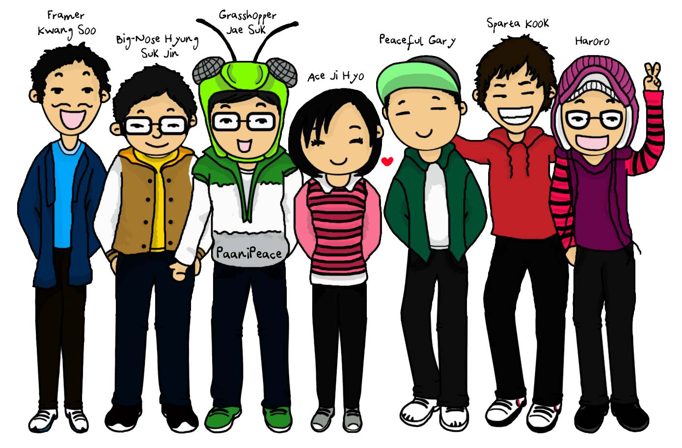 Running Man Running Man Cartoon