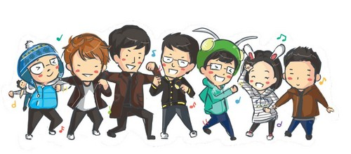 Running Man wallpaper probably containing anime entitled Running Man