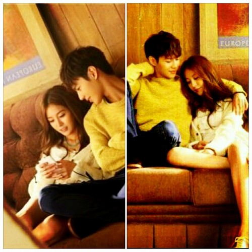 SHINee Taemin and BoA in BoA's new single