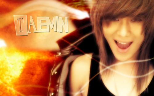 S.M.Entertainment wallpaper with a portrait entitled SHINee