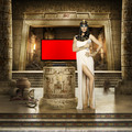 SKY 2012 Egypt - Gisele as Cleopatra - gisele-bundchen photo