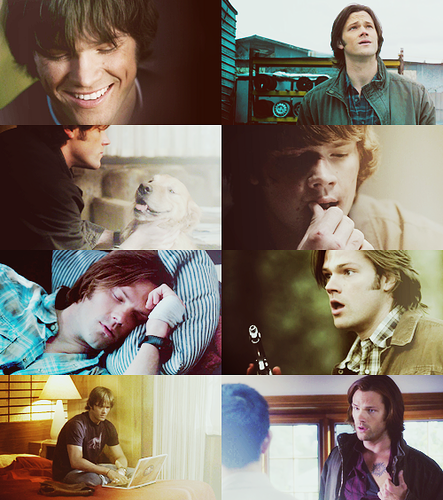 Sam Winchester + Tickles my अचार