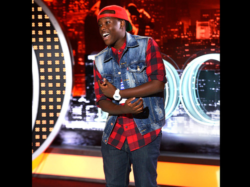 American Idol wallpaper probably containing a sign called Sanni M'Mairura