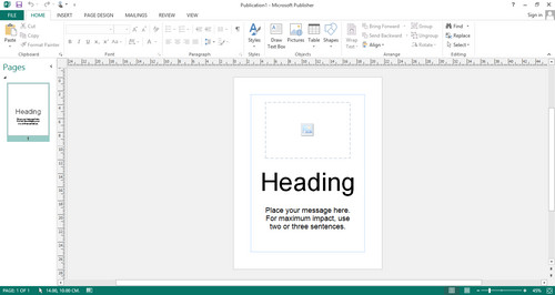 Screenshot for Microsoft Office 2013