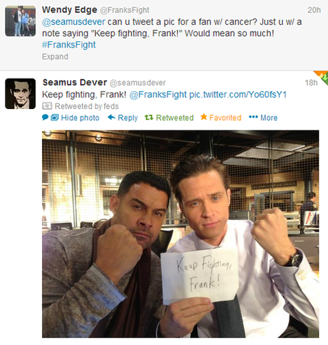 Seamus and Jon Huertas
