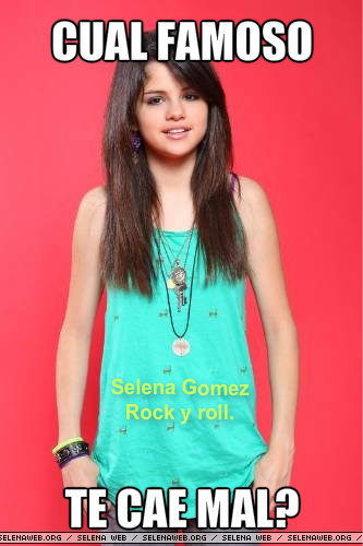 Selena Gomez Rock y roll.