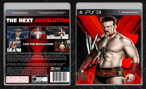 Sheamus WWE 13