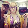 Shemar & Kirsten - kirsten-vangsness photo