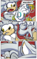 Silver the Werehog transformation Pg.2