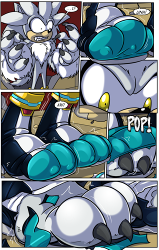 Silver the Werehog transformation Pg. 4