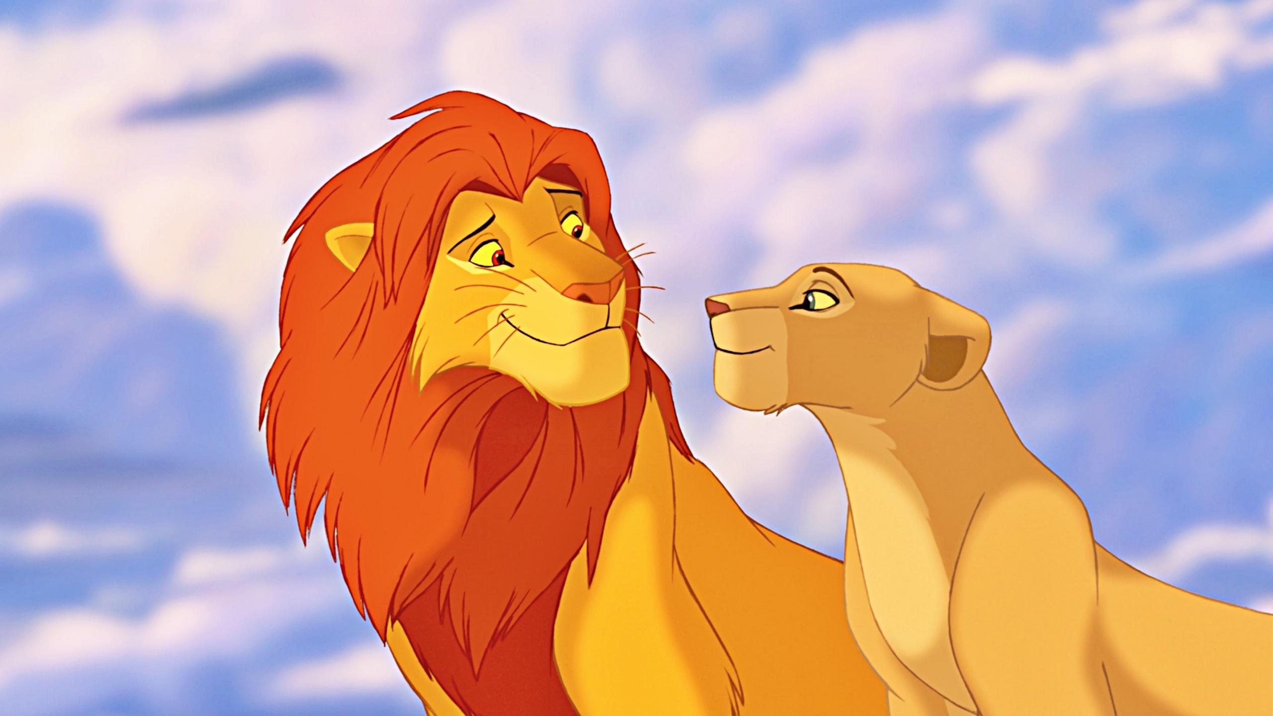 Disney lion king simba and nala