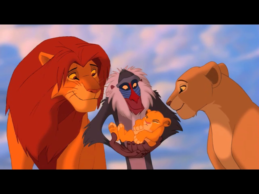 The gallery for --> Lion King Simba And Nala Cubs Kissing