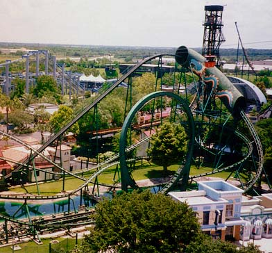 Six Flags Astroworld adder, viper