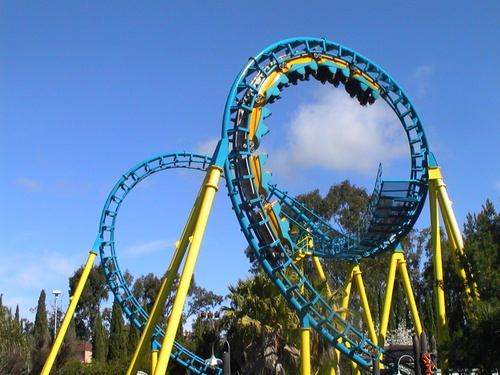 Six Flags Discovery Kingdom Boomerang