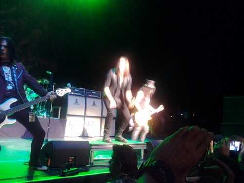 Slash, Myles Kennedy and the Conspirators live