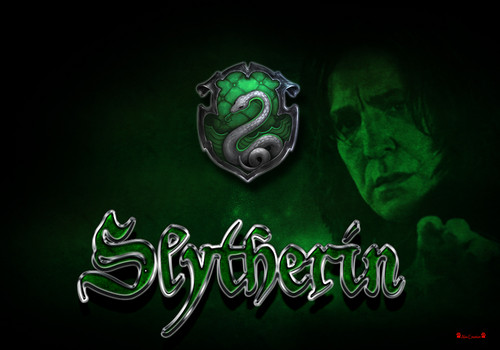 Snape Slytherin fondo de pantalla