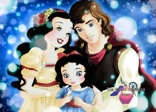 Snow White and her Family