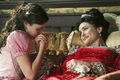 Snow White & her mother, queen Eva