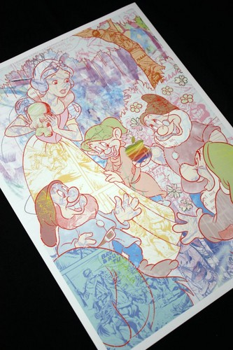 Snow White and the Seven Dwarfs wallpaper possibly containing anime called Snow White