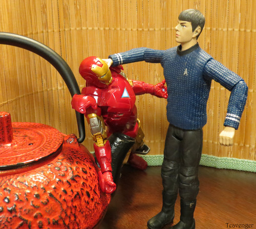 Spock vs Iron Man