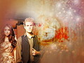 Stefan & Elena - the-vampire-diaries wallpaper