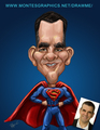 Superman Gift Caricature