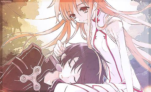 Sword Art Online ~ Kirito x Asuna