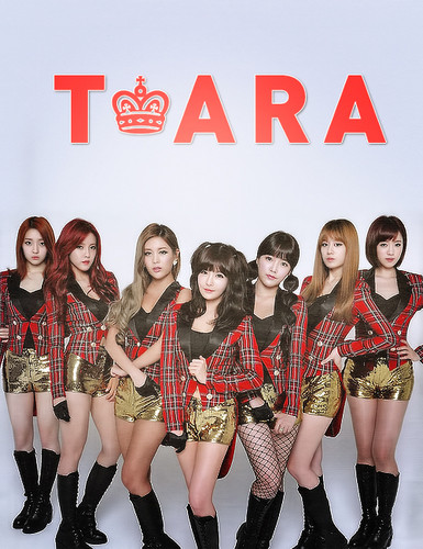 T-ARA (Tiara) wallpaper possibly with a hip boot titled T-ara