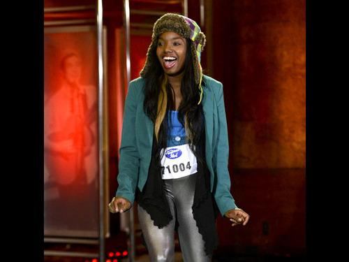 American Idol wallpaper containing an outerwear called Tarshiba Rachelle